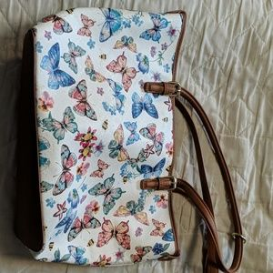 Handbags - Spring butterfly & bees purse